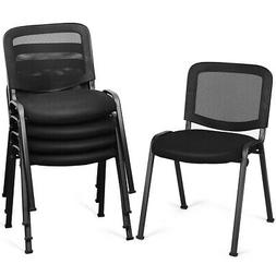 Set of 5 Conference Chair Mesh Back Office Waiting Room Gues