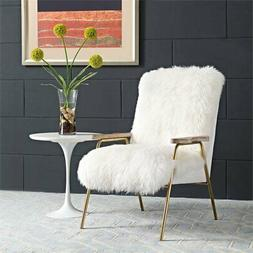 Modway Sprint Wool Arm Chair in White