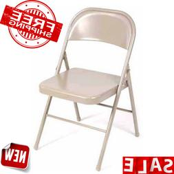 Mainstays Steel CHAIR Folding Chairs Stackable Party MEETING
