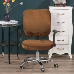 Stretchable Rotating Chair Slipcover Set for Most Office Com