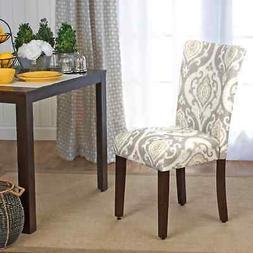 HomePop Suri Parson Dining Chair - Set of 2 Multi