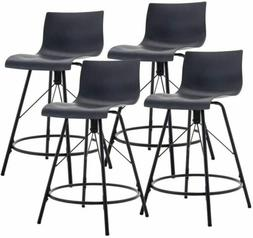 Swivel Plastic Bar Stools Dinning chairs Side Chairs Counter