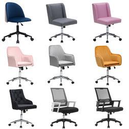 Swivel Velvet Office Chair Executive Home Computer Desk Seat