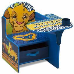 Delta Children The Lion King Chair Desk with Storage Bin  Sn