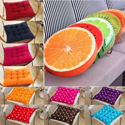 Tie On Soft Chair Cushion Seat Pads Pillow Garden Patio Play