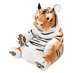 Tiger Sofa Plush Stuffed Animal Chair Kids Room Decor