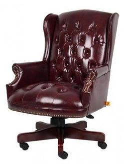 Traditional Series High-Back Office Chair Seat Textile: Oxbl