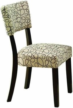 Coaster Home Furnishings Transitional Side Chair, Cappuccino