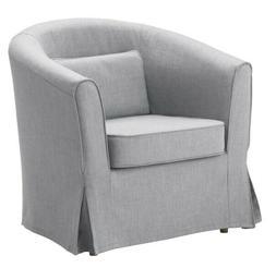 Ikea TULLSTA Barrel Accent Chair cover, Nordvalla medium gra