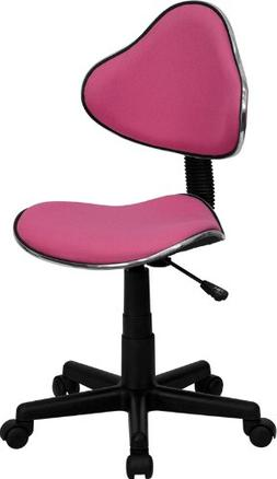 Two Tone Task Chair with Ergonomic Seat and Back, Multiple C