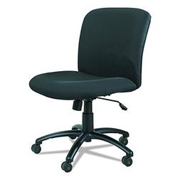 Safco Uber Big and Tall Mid Back Task Chair in Black