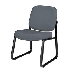 OFM 405-801 Armless Reception Chair - Mid-Back Guest Chair,