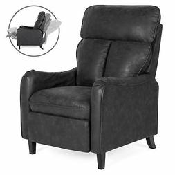 BCP Faux Leather English Roll Arm Chair Recliner w/ 160-Degr