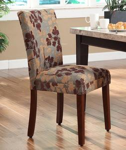 Upholstery Fabric Dining Chair Wood Kitchen Furniture Living