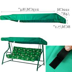 US Garden Swing Chair Canopy Spare Patio Cover Waterproof Re