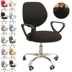 US Stretch Rotating Split Computer Office Chair Covers Desk
