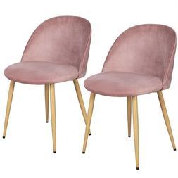 velvet fabric dining chairs metal legs living