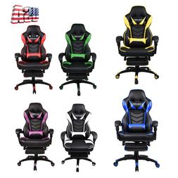 Video Game Computer Gaming Chair Racing High Back Adjustable