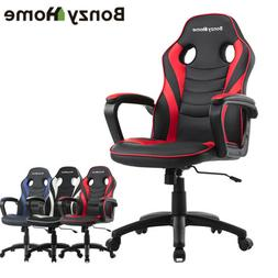 Video Game Racing Gaming Chair Armrest for Gamers Office Com