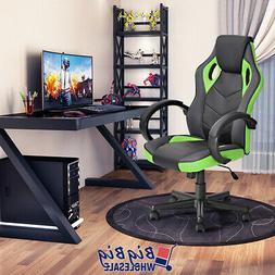 Video Gaming Racing Office Chair PU Leather Swivel Ergonomic