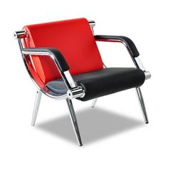 Waiting Room Chair Office Reception PU Leather Airport Guest