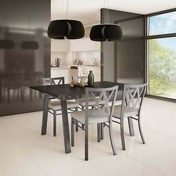 Amisco Washington Metal Chair and Drift Extendable Table