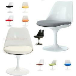 White Tulip Dining Side Chair Eero Saarinen - 9 Cushion Colo