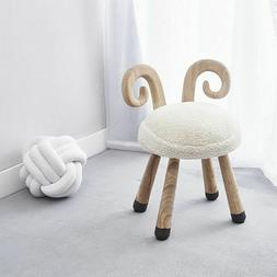 Wooden Chair for Kids Room Decor Nordic Minimalist Style for