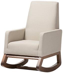 yashiya mid fabric upholstered rocking